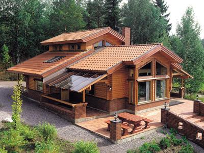 La belleza y confort en las construcciones de madera - Construcciones de casas de madera ...