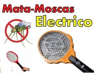 Raqueta eléctrica mata moscas