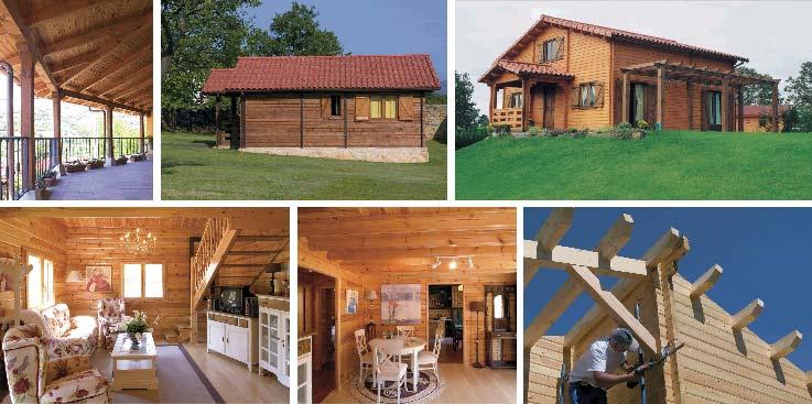 6 razones para vivir en una casa de madera casas de - Seguros casas de madera ...