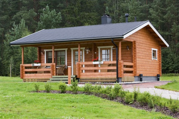 Qu ventajas tienen las casas de madera casas de - Fotos de casas de campo de madera ...